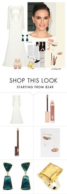 """""""Hello from the outside ... (Adele)"""" by katelyn999 ❤ liked on Polyvore featuring Rime Arodaky, Charlotte Tilbury, Christian Dior, StyleRocks, Christian Louboutin, RedCarpet, stars and styleicon"""