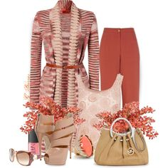 """""""Coral"""" by gaburrus on Polyvore"""