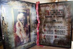 Madame Leota Spellbook Haunted Mansion Replica