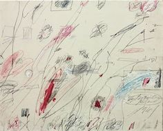 CY TWOMBLY (B. 1928) UNTITLED