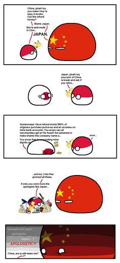 We all should be more like Japan • r/polandball