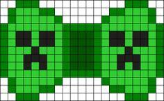 Minecraft Creeper Bow