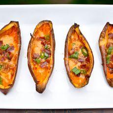 Savory Sweet Potato Skins
