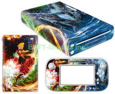 EBTY-Dreams Inc. - Nintendo Wii U - Pokemon Anime Ho-Oh Lugia Vinyl Skin Sticker Decal Protector
