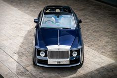 "Inspired by the marquee's coach built cars of the 1920s and '30s, the Rolls-Royce Sweptail is a one-of-a-kind masterpiece. It was built for one of the company's most valued customers - ""a connoisseur and collector of distinctive, one-off items including..."