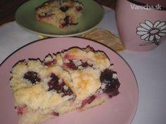 Slivkový koláč s posýpkou (fotorecept)