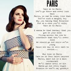 #lanadelrey #Paris