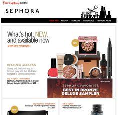Sephora - newsletters