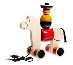 Hee Haw Wooden toy from Lal10.com
