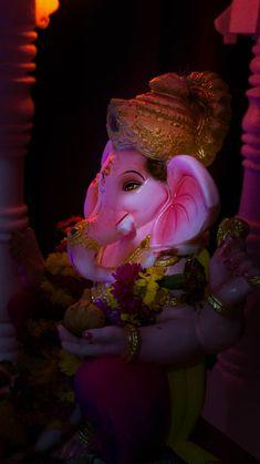 God Ganpati by Tarun Pawar on Jai Ganesh, Ganesh Lord, Lord Shiva Statue, Shree Ganesh, Ganesha Art, Ganesh Wallpaper, Lord Shiva Hd Wallpaper, Lord Krishna Wallpapers, Shri Ganesh Images