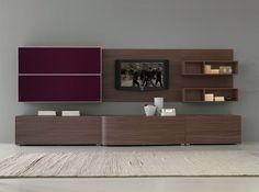 Modern Wall Unit Velvet 918 by Artigian Mobili Italy - $4,395.00