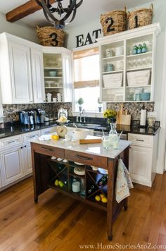 The island is often the main focal point of the kitchen and provides an opportunity to show off your style. #PutTogether