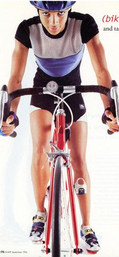 Shape Magazine featuring Terry shorts in 1996 inspired us all to practice  the power stance. 341535d20