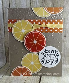 Apple of my eye, Stampin' Up!, BJ Peters