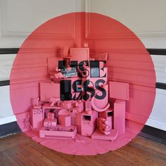 akacorleone tricks the eye with anamorphic installation, 'find yourself in chaos' at the under dogs gallery, lisbon