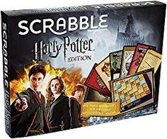 Scrabble Harry Potter Edition brings a new level of magical mischief and fun to the world's favorite word game. Harry Potter Party Games, Harry Potter Monopoly, Scrabble Board Game, Activities For Teens, Character Home, Hogwarts Mystery, Scrabble Tiles, Harry Potter Universal, Family Games