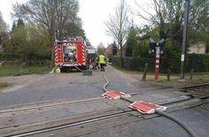 Des pompiers belges... un peu trop fatigués...