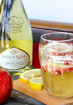 Stella Rosa Sparkling Apple Cider Cocktail