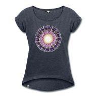 "SoulArt-Mandala Shirt ""Sahasrara Chakra"" http://www.soulart-seelenkunst.de/"