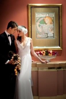 art deco wedding inspiration042 Polka dot bride search art deco