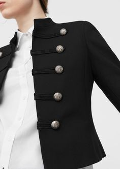 Veste officier courte femme