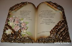 Karteczkowo Ani S: Jak ja to robię- Księga Folded Book Art, Book Folding, Cardboard Crafts, Paper Crafts, Old Book Crafts, Altered Book Art, Book Sculpture, Altered Bottles, Book Gifts