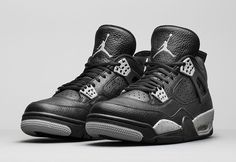 The remastered Air Jordan 4 Oreo is officially unveiled. Availability is set for February 21st.