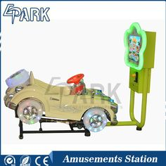 2016 NEW coin operated horse kiddie rides/best 3d bubble car kids ride game machine 3d swing car kiddie ride