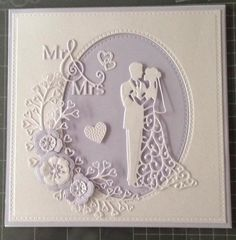New Diy Wedding Cards Handmade Crafts Valentines Day 49 Ideas Wedding Day Cards, Wedding Shower Cards, Wedding Cards Handmade, Wedding Anniversary Cards, Handmade Birthday Cards, Greeting Cards Handmade, Tattered Lace Cards, Engagement Cards, Homemade Cards