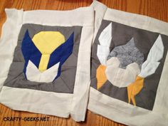 THOR Quilt Block Pattern SUPERHERO QUILT by wolftlou on Etsy, $7.00