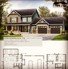 New House Plans, New Homes, How To Plan, House Styles, Home Decor, Homes, Decoration Home, Room Decor, Home Interior Design