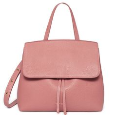 Mansur Gavriel Mini Lady Bag in Italian tumbled leather
