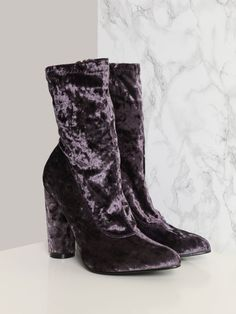 Night Bird Bootie - Purple - Gypsy Warrior