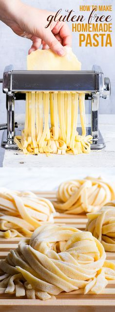 Homemade Gluten Free Pasta  simple and reliable.