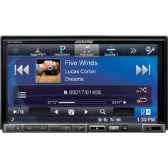 """Alpine INE-W927HD 7"""" Touchscreen Navigation Receiver w/ Bluetooth & HD by Alpine. $1199.00. General features: DVD/navigation receiver with 7"""" touchscreen and AM/FM tuner internal amp (18 watts RMS CEA-2006/50 peak x 4 channels) built-in Bluetooth® for hands-free calling and audio streaming built-in HD RadioTM with iTunes® tagging iPhone: Pandora control through USB connection Android and BlackBerry: Pandora control through Bluetooth iPhone basic app mode fits double-DIN..."""