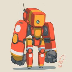 Cartoon Drawing Tips 289 2016 yesterdays responses were great. You people are hilarious! Here is small arms version 2 :p Character Concept, Character Art, Character Design, Robot Sketch, Robot Cartoon, Robot Illustration, Robots Characters, Arte Robot, Cool Robots