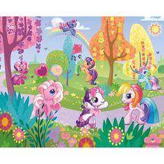 Fotomural Infantil My Little Pony