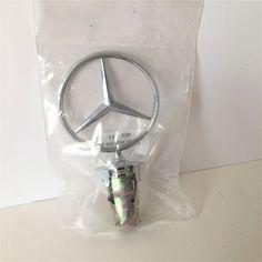 Mercedes Benz Hood Ornament Replacement Metal A 201 880 00 86  #MercedesBenz