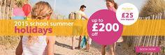 Hoseasons Offer Web Banner #Web #Banner #Digital #Online #Marketing #Holidays #Travel #Offer
