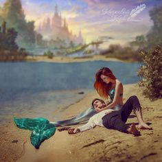 The talented photographer bringing fairy tales to life
