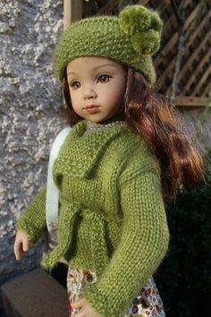 Alicia + tuto veste et bonnet (poupée Maru ou Gotz)