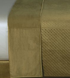 Reuss Olive Coverlet from Eastern Accents