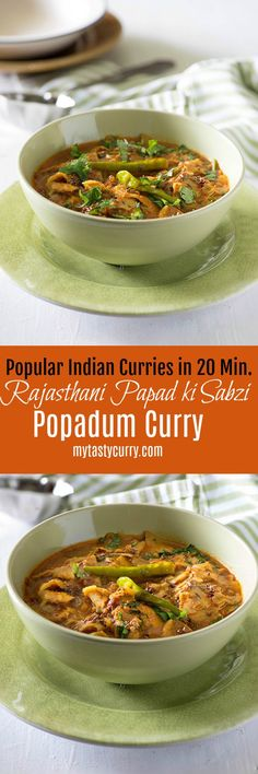 Papad ki sabzi is a traditional Rajasthani dish. Quick and delicious in taste you can make papad ki sabzi in under 20 minutes. step by step method video