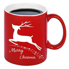 Christmas Gifts For Friends, Christmas Coffee, Perfect Christmas Gifts, Red Christmas, Hot Cocoa Bar, Cool Mugs, White Coffee Mugs, New Year Gifts, Kid Friendly Meals