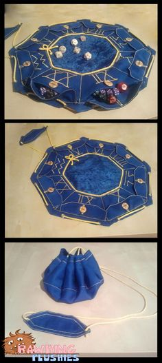 The Wizard's Pouch. this is so cool! dice bag with sections for different kinds of dice - polidice polydice velvet bag for DnD The Wizard's Pouch. this is so cool! dice bag with sections for different kinds of dice - polidice polydice velvet bag for DnD Larp, Renaissance Hut, Wiccan, Witchcraft, Cosplay, Sewing Crafts, Sewing Projects, Dice Bag, Diy Couture