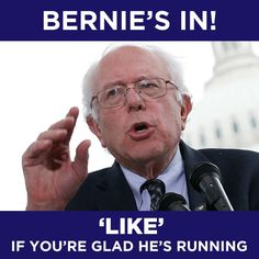 I like him for VP...his #'s are low for president.