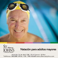 La natación para los adultos mayores es un medio eficaz para aumentar la aptitud física.