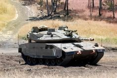 """Merkava Mk 4 with Active Protection System """"Trophy"""""""