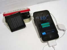Make a solar powered iphone charger in 30 minutes!