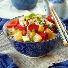 Pineapple Sweet and Sour Tofu - connoisseurusveg.com